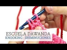 Knooking: Aprende a hacer disminuciones   DaWanda - YouTube