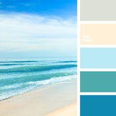 8 Fair Cool Tips: Coastal Pattern Pillows coastal palette gray paint.Coastal Landscaping Tips coastal flooring sea glass. Beach Color Palettes, Colour Pallette, Colour Schemes, Color Combinations, Ocean Color Palette, Green Palette, Beachy Colors, Light Blue Walls, Color Balance