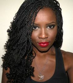 With kinky twist braids, you'll be able to obtain an elegant, fashionable and neat look. That is the coiffure that may make you stand out in a crowd. There are fabulous methods of styling your tw Senegalese Twist Hairstyles, Twist Braid Hairstyles, Braided Hairstyles For Black Women, Crochet Braids Hairstyles, My Hairstyle, Twist Braids, African Hairstyles, Afro Hairstyles, Senegalese Twists