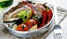 Рецепта за Мариновани зеленчуци на грил