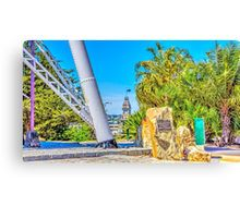 From the Poppethead to the Old Town Hall - Bendigo, Victoria Canvas Print