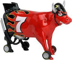 Cow Parade Nascow Stockyard Race Cow