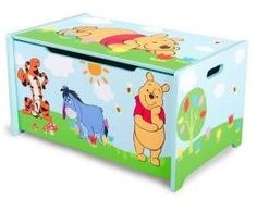 Winnie the Pooh houten Toy's opbergkist