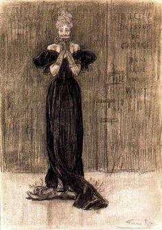 ARTE, PINTURA Y GENIOS.: Félicien Rops: Baudelaire, satanismo y muerte.