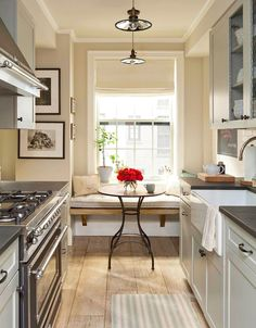 Decor Inspiration: A Cozy Kitchen Nook - The Simply Luxurious Life®