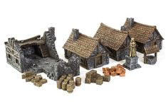 Medieval Houses Set