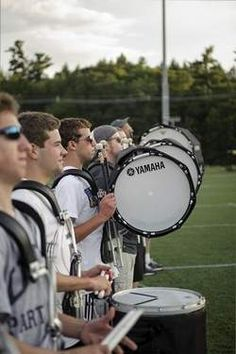 When girls say drummers are hot, I agree. But I don't mean some lousy greasy haired, garage band, drum set drummer. I mean drumline. Yes. Mostly the ones in DCI but ya know lol