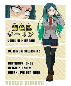 My Hero Academia, Hero Academia Characters, Girls Characters, Anime Characters, Fictional Characters, Pony Drawing, Funny Anime Pics, Anime Oc, Character Outfits