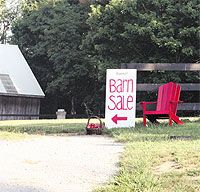 Printer Friendly  Prepare for Your Barn Sale  Learn how to plan your extra-large rummage sale, country-style! Plus, market farm-fresh edibles, showcase your farm, promote your favorite country cause.
