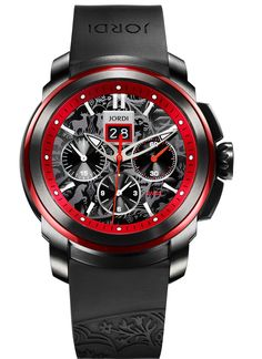 Jordi Red Horizon Chronograph