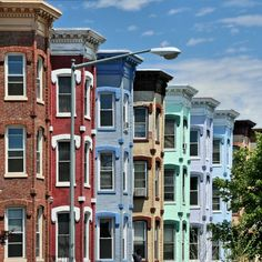 American Dream --> D.C. dream: all I want is a cute little rowhouse with bay windows and a patio for grillin out. And a porch like Sesame Street.