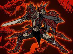 Male Rathalos Armor Spirit