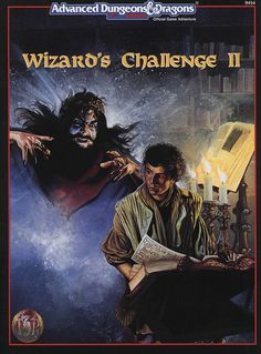 HHQ6 Wizard's Challenge II (2e) - Dungeons & Dragons | Dungeons and Dragons | D&D | DND | AD&D | 2nd Ed. | 2e | 2.0
