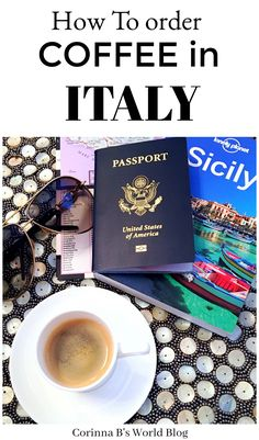 How To order Coffee In Italy Tips, tricks and how to's for ordering coffee in Italy! Coffee is part of the culture in Italy, and ordering it is completely different from Starbucks. Learn how to order un caffe, un cappuccino or maybe even un macchiato (nothing like Starbucks!) when you are in la belle Italia. #ItalyTravelTips #travelItaly #italiancoffee