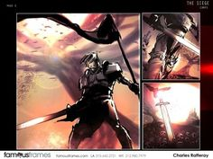 FamousFrames Storyboards, Animatic Artists, Storyboard Artists, Charles Ratteray
