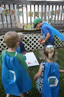 Really Like This One: Super Why Birthday Party