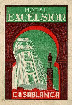 Hotel Excelsior Casablanca  - Maroc Désert Expérience tours http://www.marocdesertexperience.com