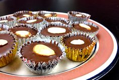 Rancho Vignola ~ Recipe, Almond Butter Cups