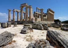 afaea temple - aegina greece