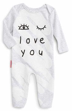 Main Image - SOOKIbaby Eye Love You Romper (Baby)