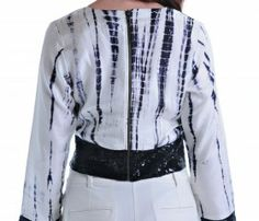 One of my favorite trends of 2014- exposed zippers! Find them on many of the tops in my Spring/Summer 2014 Collection exclusively at www.zankhna.com #zippers #spring #summer #2014 #designerfashion