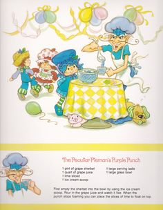 Vintage Strawberry Shortcake 1983 Sweet Treats Calendar - July Strawberry Shortcake Cartoon, Strawberry Shortcake Recipes, Easy Eat, Rainbow Brite, Holly Hobbie, 80s Kids, Old Cartoons, Nostalgia, Childhood Memories