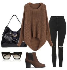 Winter Fashion Outfits, Fall Winter Outfits, Autumn Winter Fashion, Cute Casual Outfits, Pretty Outfits, Looks Style, My Style, Clothes For Women, Stylish