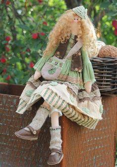 Telas y lana para juguetes, muñecas Tilde y otros   VK