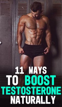 Find out more about the 11 Ways to Boost Testosterone Naturally! Testosterone is the main hormone in the body that is responsible for muscle growth and strength development. Learn how by applying 11 simple fitness techniques to your lifestyle you can boos Increase Testosterone Naturally, Increase Testosterone Levels, Testosterone Boosting Foods, Boost Testosterone, Best Natural Testosterone Booster, Gym Workout Tips, Workout Challenge, Easy Workouts, Workout Men