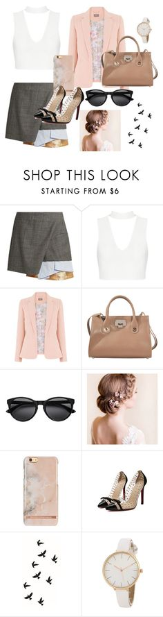 """""""First day of work"""" by madisonbj17 ❤ liked on Polyvore featuring Toga and Jimmy Choo"""