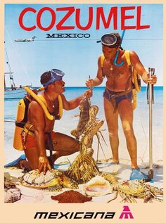 Scuba Diver Back Cozumel Mexico, Riviera Maya, Western Caribbean, Packing List For Travel, Traveling Tips, Vintage Travel Posters, Scuba Diving, Underwater, Astronaut