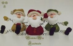 Mia Handmade: Molde Noel em Feltro - pattern