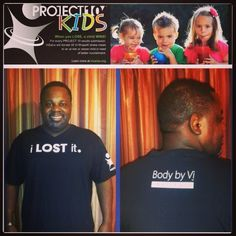 Congratulations to another team member for loosing 10 lbs, helping needy kids beat the obesity epidemic and in earning your I Lost It T-shirt!