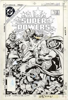 Super Powers, 1984 Series, Issue 2, Cover