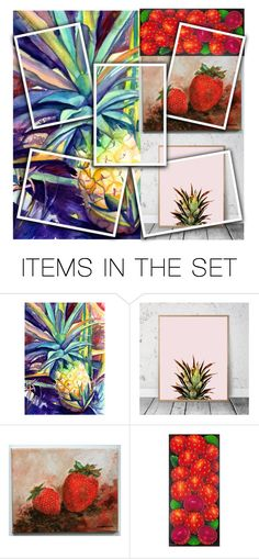 """Sets With Fruits"" by freida-adams ❤ liked on Polyvore featuring art, topsets, polyvorecommunity and topset"