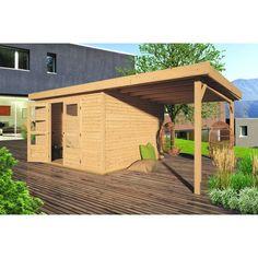 Gartenhaus PATRICK inkl. Schleppdach, 749,00 €