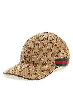 b2d8abf4 Gucci Logo Print Baseball Cap - Beige. Brian Revis · men's Gucci hat