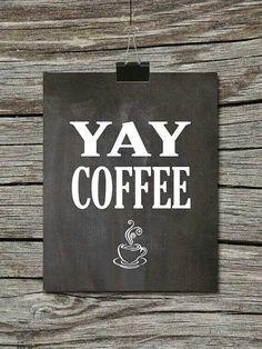 ♥ Yay coffee!