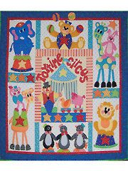 Radical Rooster Applique Quilt Pattern Quilted Chickens