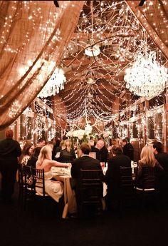 Glamorous wedding reception ideas; photo: JQ Image