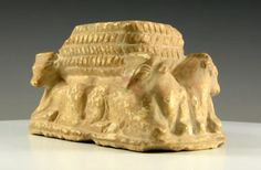 Sumerian Uruk Offering Basket, 3rd B.C. http://archaicwonder.tumblr.com/post/156099418647/sumerian-uruk-offering-basket-3rd-ml-bc-a-carved