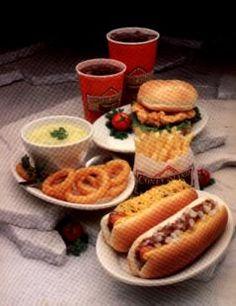 Coney Island Hot Dogs - fast food menu