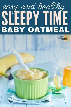The Sleepy Time Baby Oatmeal recipe is perfect to help get your baby tired and ready for a good nights sleep! This sleepy time baby food recipe made with oatmeal and banana is sure to help your baby sleep better through the night. Bedtime Routine Baby, Baby Bedtime, Toddler Meals, Kids Meals, Toddler Food, Help Baby Sleep, Baby Cereal, Homemade Baby Foods, Oatmeal Recipes