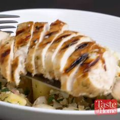 Tropical Chicken Cauliflower Rice Bowls Recipe