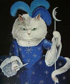 =^. ^= Cat Art =^. ^= ❤ ...By Artist Susan Herbert série 5...