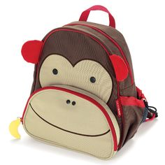 Skip Hop Monkey Backpack