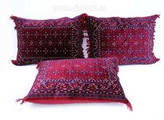 80x58 cm orient sitzkissen bodenkissen Turkmen (khal-mohamadi) - orientart