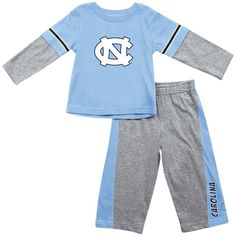North Carolina Tar Heel Baby Eyelet Diaper Cover