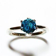 Swiss blue topaz swiss blue topaz ring tiffany by Michaelangelas, $46.50