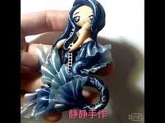 Mermaid Polymer Clay - YouTube